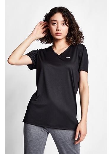 Lescon Siyah Kadın T-Shirt 21S-2208-21B Siyah